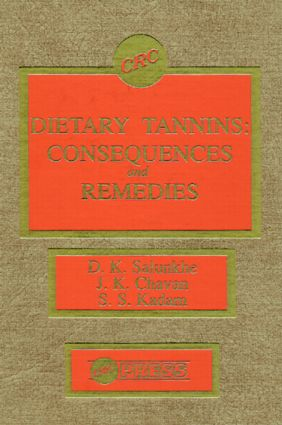 Dietary Tannins: Consequences and Remedies, 1st Edition (Hardback) book cover