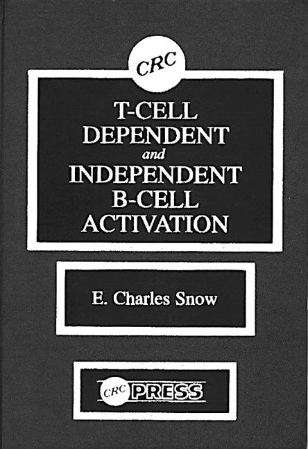 T-Cell Dependent and Independent B-Cell Activation: 1st Edition (Hardback) book cover