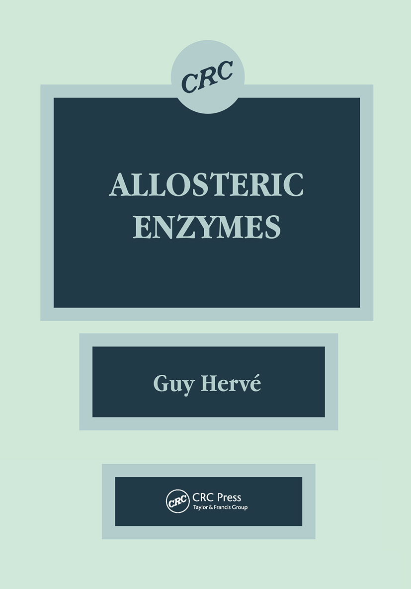 Allosteric Enzymes: 1st Edition (Hardback) book cover