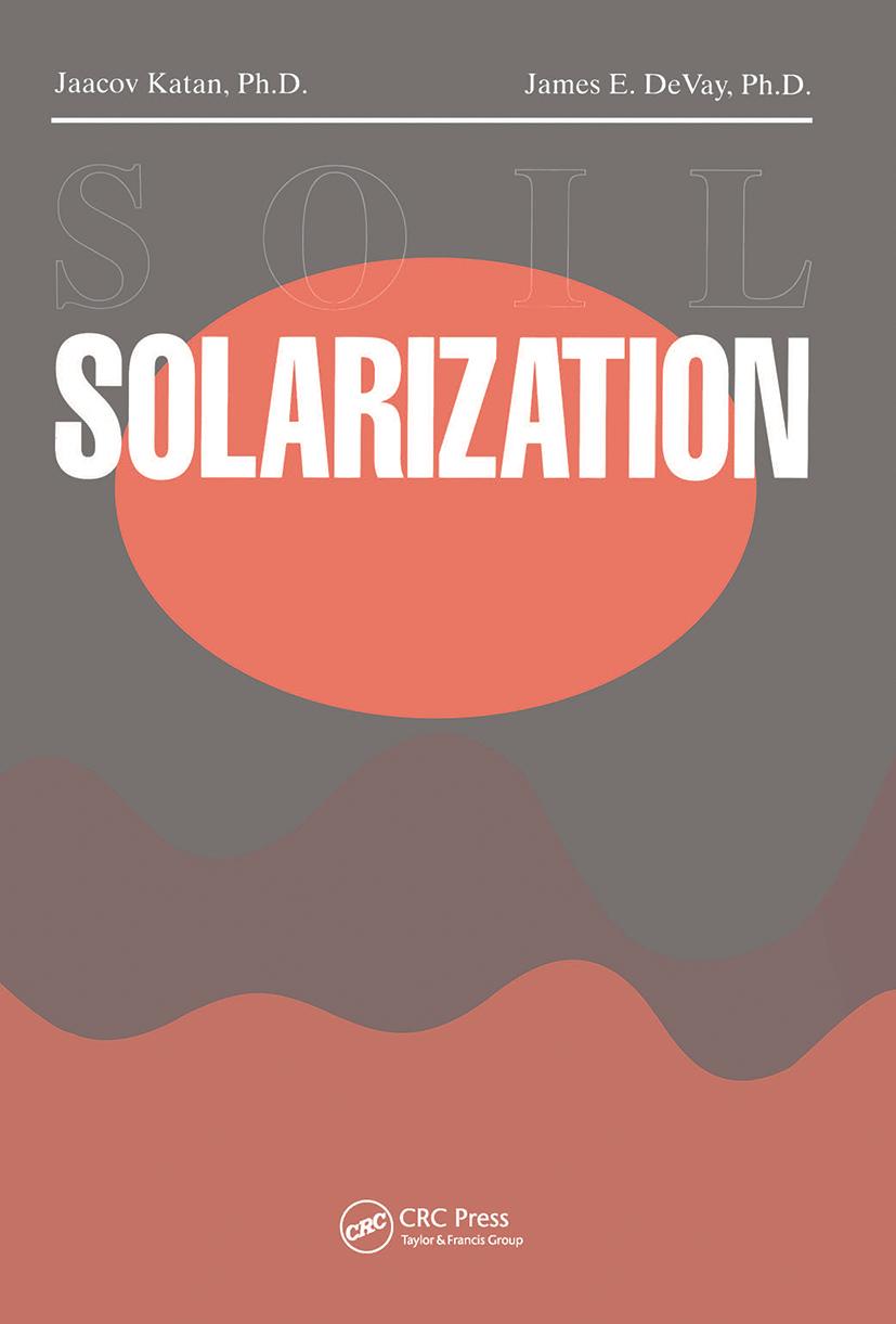 Soil Solarization: 1st Edition (Hardback) book cover