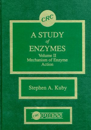 A Study of Enzymes, Volume II: 1st Edition (Hardback) book cover
