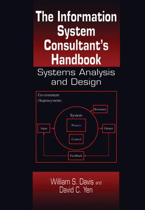 The Information System Consultant's Handbook: Systems Analysis and Design, 1st Edition (Hardback) book cover