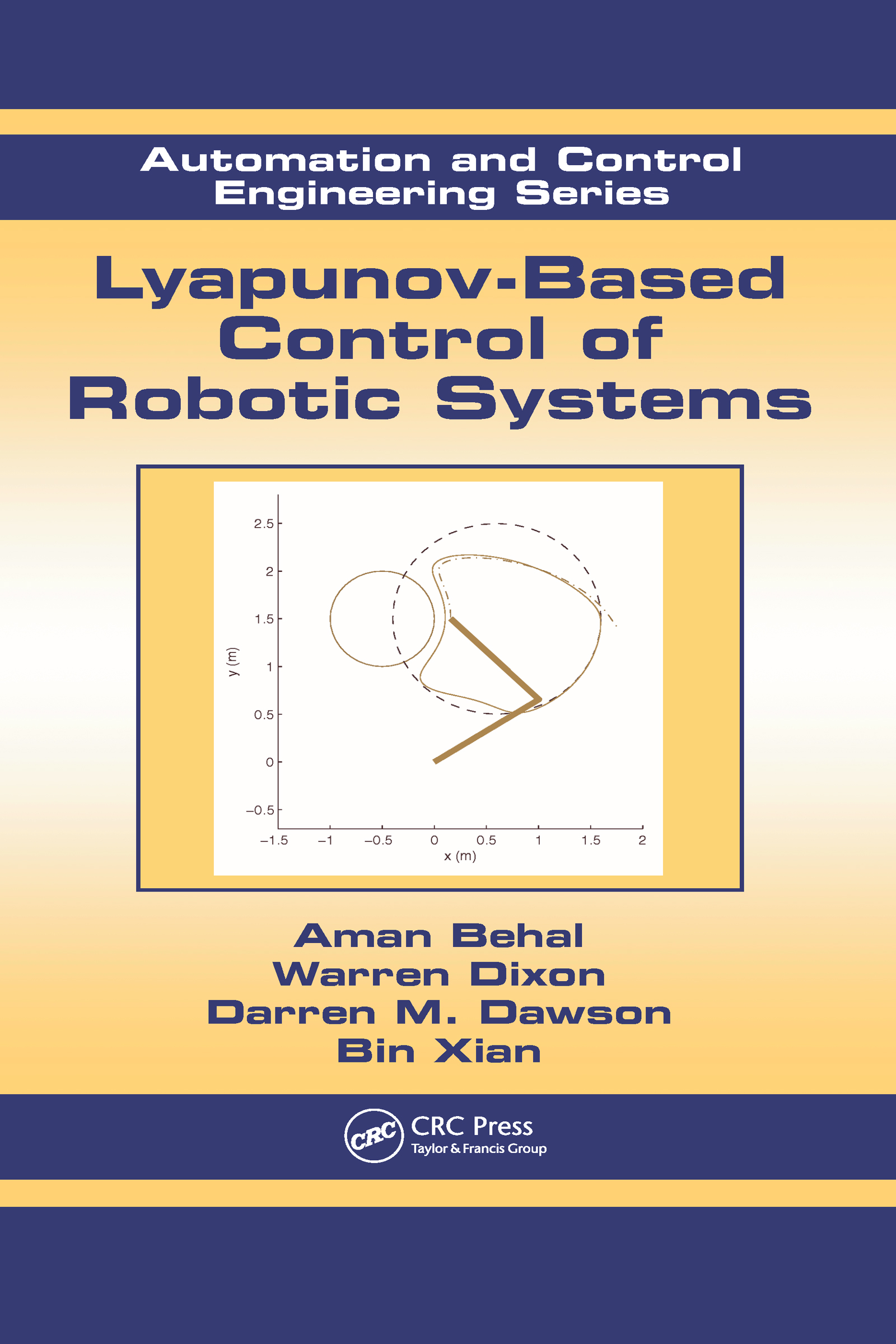 Lyapunov-Based Control of Robotic Systems: 1st Edition (Hardback) book cover
