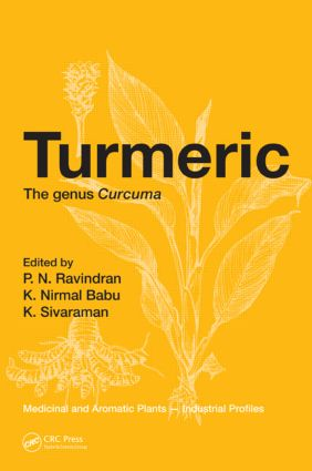 Turmeric: The genus Curcuma, 1st Edition (Hardback) book cover