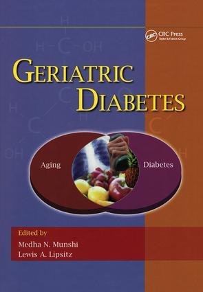 Geriatric Diabetes: 1st Edition (Hardback) book cover