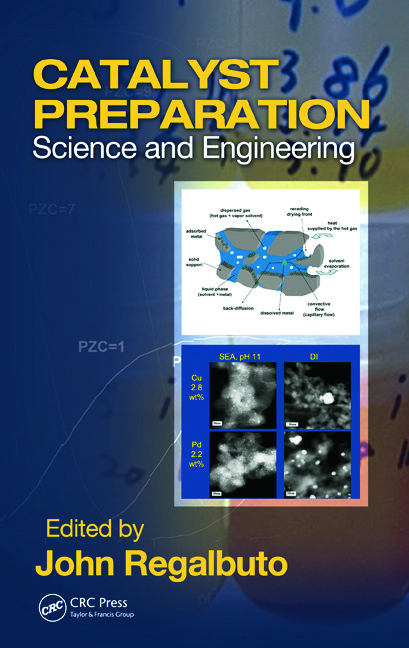 Catalyst Preparation: Science and Engineering, 1st Edition (Hardback) book cover