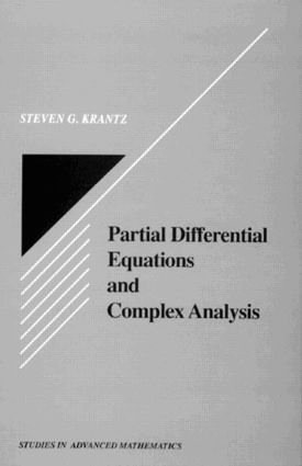 Partial Differential Equations and Complex Analysis book cover