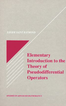 Elementary Introduction to the Theory of Pseudodifferential Operators book cover
