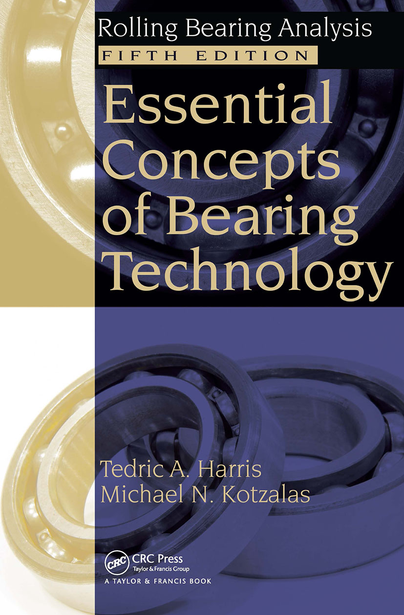 Essential Concepts of Bearing Technology: 5th Edition (Hardback) book cover