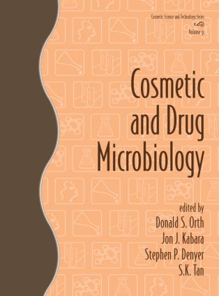 Cosmetic and Drug Microbiology (Hardback) book cover
