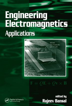 Engineering Electromagnetics: Applications, 1st Edition (Hardback) book cover