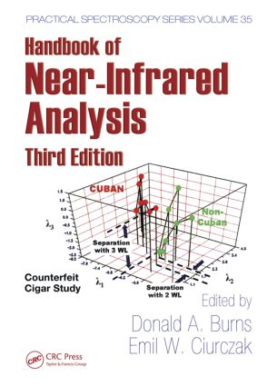 Handbook of Near-Infrared Analysis: 3rd Edition (Hardback) book cover