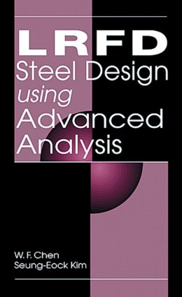 LRFD Steel Design Using Advanced Analysis book cover