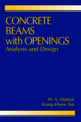 Concrete Beams with Openings: Analysis and Design book cover