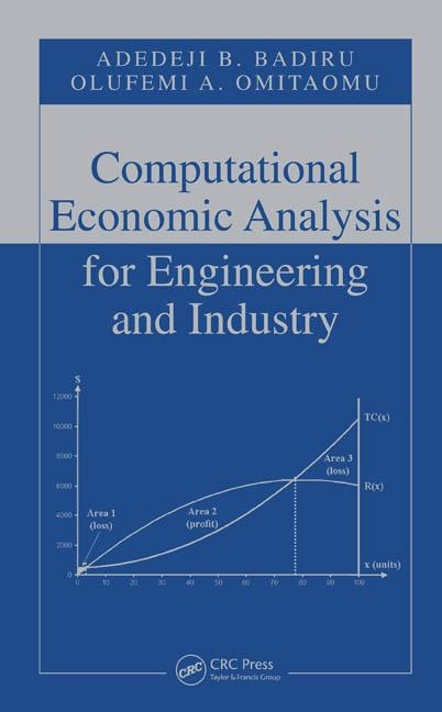 Computational Economic Analysis for Engineering and Industry: 1st Edition (Hardback) book cover