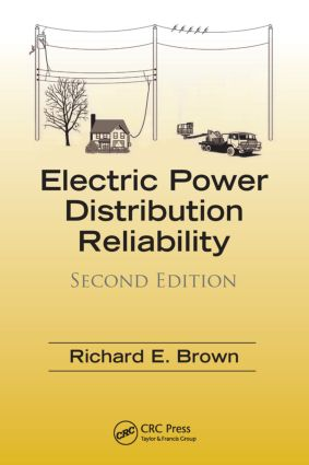 Electric Power Distribution Reliability: 2nd Edition (Hardback) book cover