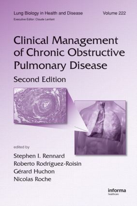 Clinical Management of Chronic Obstructive Pulmonary Disease: 2nd Edition (Hardback) book cover