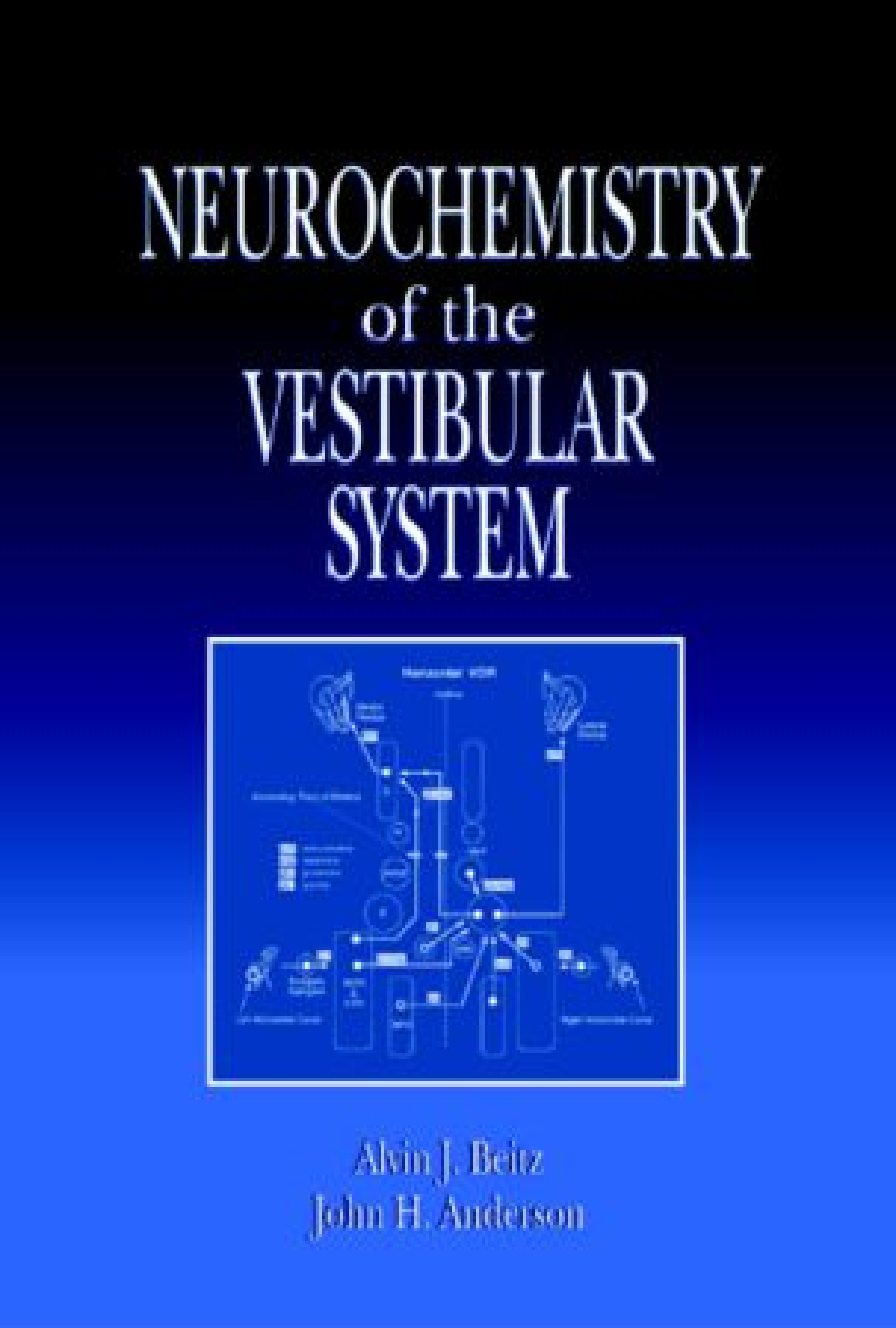 Neurochemistry of the Vestibular System: 1st Edition (Hardback) book cover