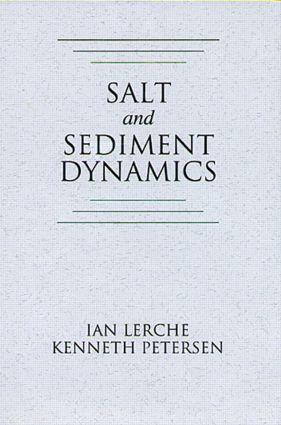 Salt and Sediment Dynamics: 1st Edition (Hardback) book cover