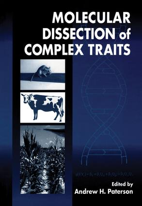 Molecular Dissection of Complex Traits: 1st Edition (Hardback) book cover