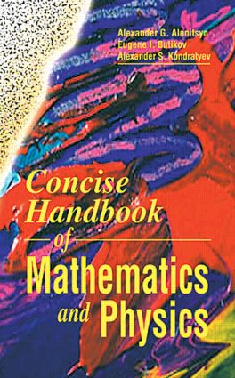 Concise Handbook of Mathematics and Physics: 1st Edition (Hardback) book cover