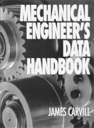 Mechanical Engineer's Data Handbook: 1st Edition (Hardback) book cover