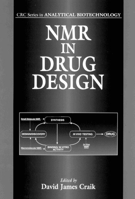 NMR in Drug Design: 1st Edition (Hardback) book cover