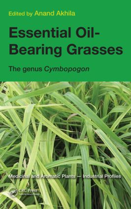 Essential Oil-Bearing Grasses: The genus Cymbopogon book cover