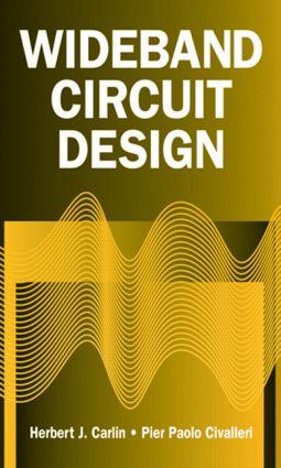 Wideband Circuit Design: 1st Edition (Hardback) book cover