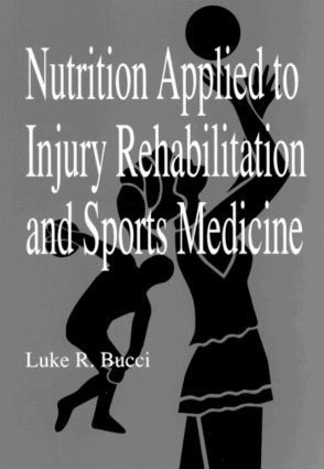 Nutrition Applied to Injury Rehabilitation and Sports Medicine (Hardback) book cover