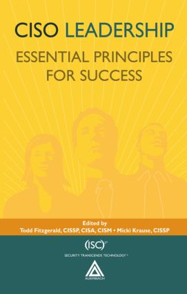 CISO Leadership: Essential Principles for Success book cover