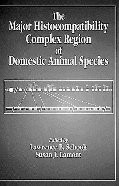 The Major Histocompatibility Complex Region of Domestic Animal Species (Hardback) book cover