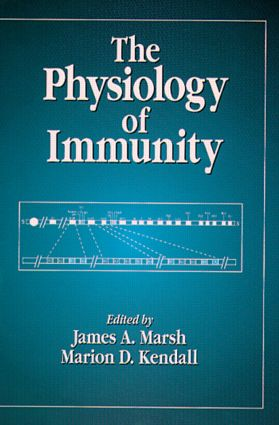 The Physiology of Immunity: 1st Edition (Hardback) book cover