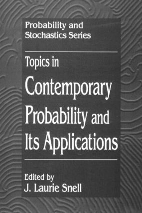 Topics in Contemporary Probability and Its Applications: 1st Edition (Hardback) book cover
