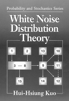 White Noise Distribution Theory: 1st Edition (Hardback) book cover