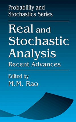 Real and Stochastic AnalysisRecent Advances: 1st Edition (Hardback) book cover