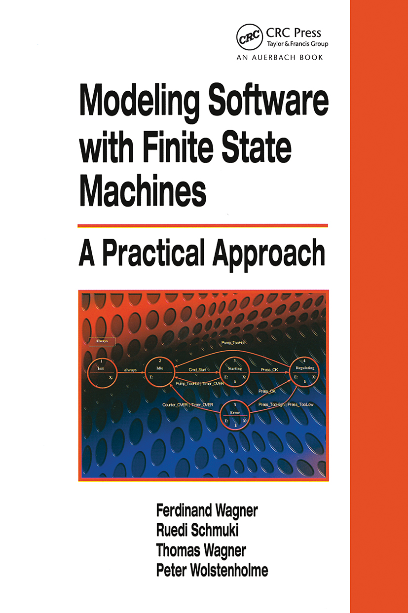 Modeling Software with Finite State Machines: A Practical Approach (Hardback) book cover