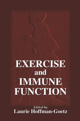 Exercise and Immune Function: 1st Edition (Hardback) book cover