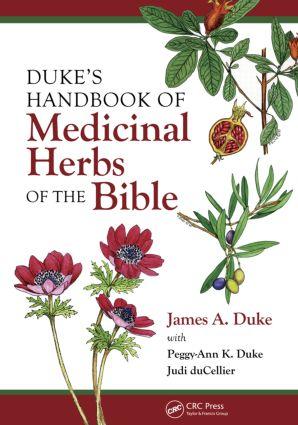 Duke's Handbook of Medicinal Plants of the Bible book cover