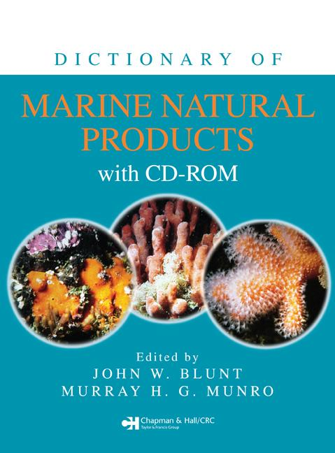 Dictionary of Marine Natural Products with CD-ROM (Pack - Book and CD) book cover