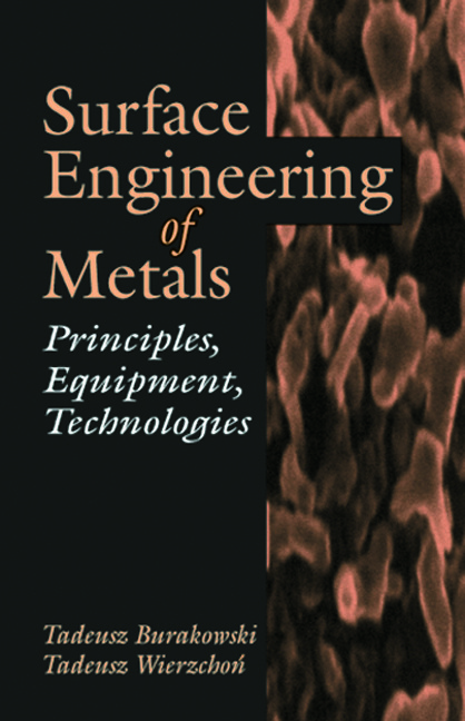 Surface Engineering of Metals: Principles, Equipment, Technologies book cover