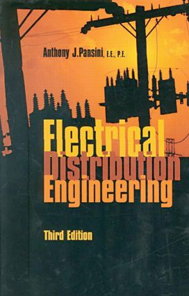 Electrical Distribution Engineering, Third Edition: 3rd Edition (Hardback) book cover