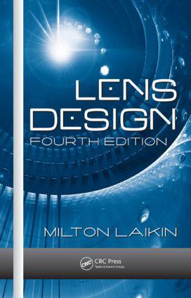 Lens Design book cover