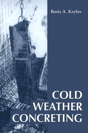 Cold Weather Concreting book cover