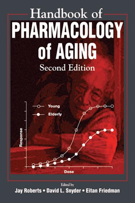Handbook of Pharmacology on Aging: 2nd Edition (Hardback) book cover