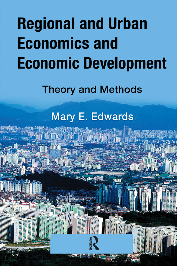 Regional and Urban Economics and Economic Development