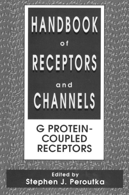 Handbook of Receptors and Channels: G Protein-Coupled Receptors, 1st Edition (Hardback) book cover