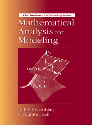 Mathematical Analysis for Modeling: 1st Edition (Hardback) book cover