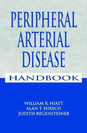 Peripheral Arterial Disease Handbook: 1st Edition (Paperback) book cover