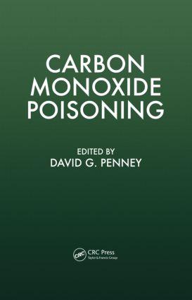 Carbon Monoxide Poisoning: 1st Edition (Hardback) book cover